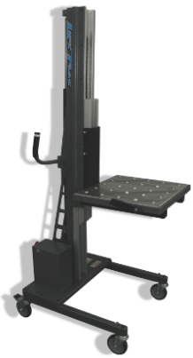 LiftTrac's LT-300 Series Lift w/ table top attachment end effector