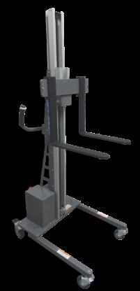 LiftTrac's LT-250 Series Lift w/ fork attachment end effectors
